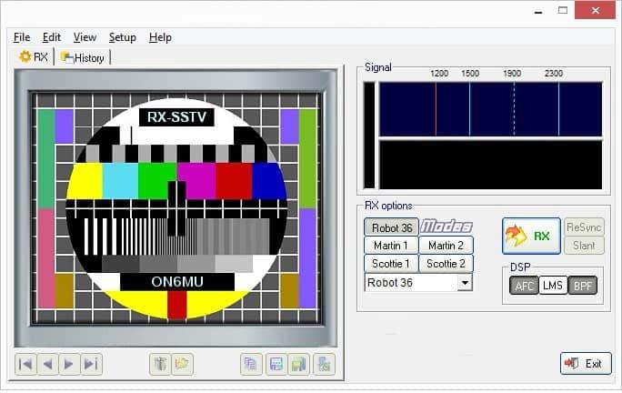 SSTV software