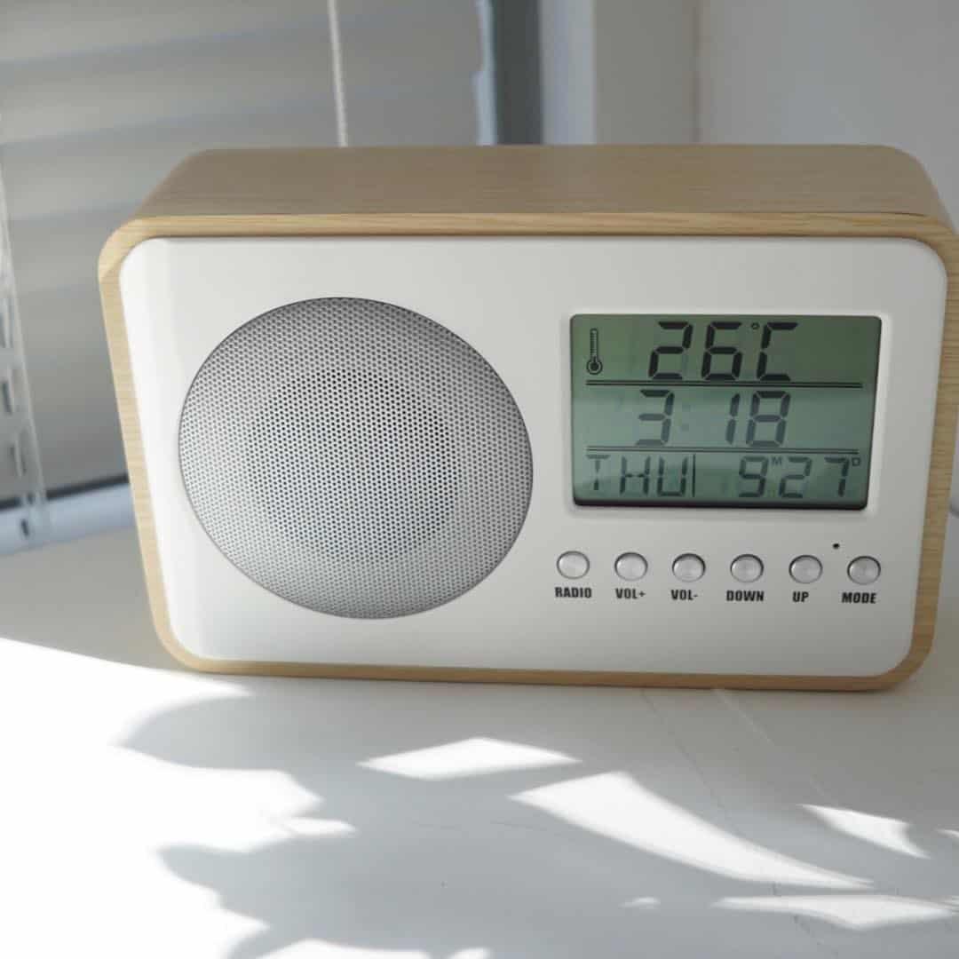 Sounding Clock Radio