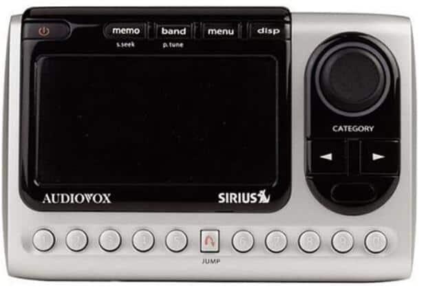 Best Satellite Radio Audiovox