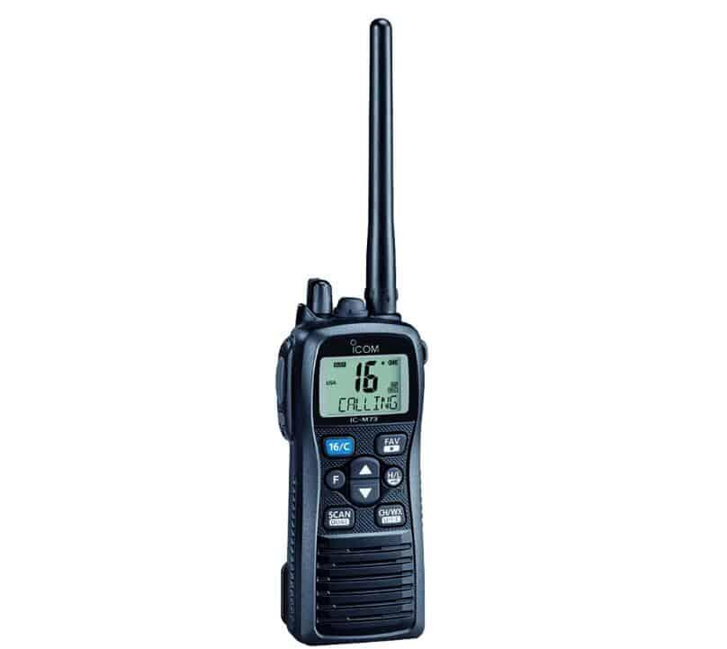 Best VHF Marine Radio ICOM IC-M73 01