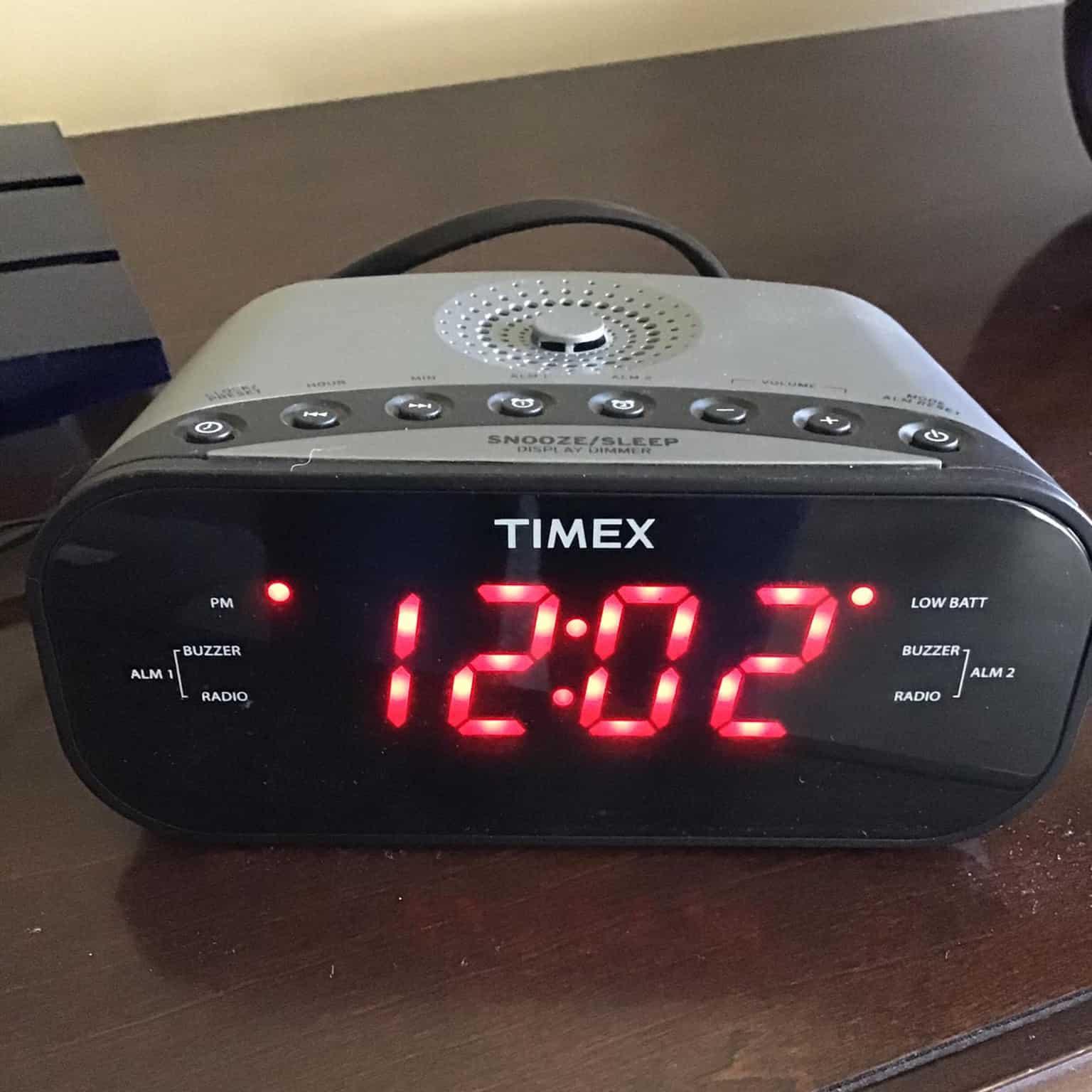 Clock Radio CD Player