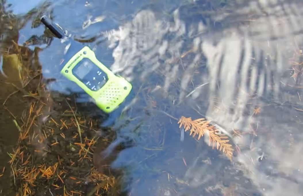 best waterproof two way radio