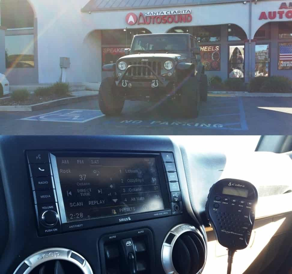 cb radio jeep
